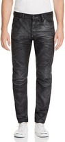 G Star Painted Coated Denim New Tapered Fit Jeans in Dark Aged