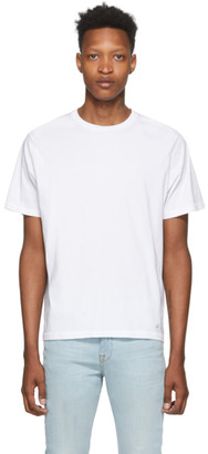 Frame White Classic Fit T-Shirt