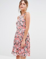 Oasis Tropical Floral Sundress