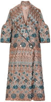 Temperley London Tower Jacquard Coat