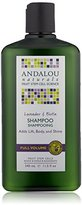 Andalou Naturals Full Volume Shampoo, Lavender and Biotin, 11.5 Ounce
