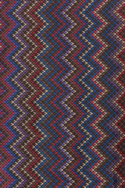 Missoni Stripe Print Silk & Wool Oblong Scarf