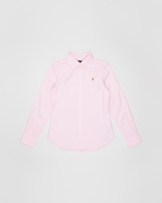 Polo Ralph Lauren Cotton Oxford Shirt - Teens