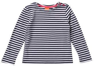Joe Fresh Striped Long Sleeve T-Shirt (Little Girls)