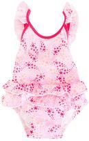 Sunuva - 'Pop Star Frill' swimsuit - kids - Polyamide/Spandex/Elastane - 3-6 mth