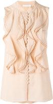 Chloé - blouse volantée