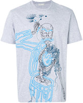 Etro skeleton print T-shirt - men - Cotton - M