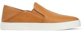 Vince Garvey Leather Slip-on Sneakers