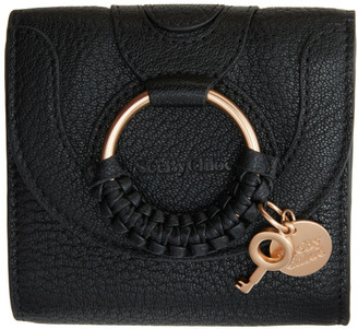 See by Chloe Black Hana Square Wallet