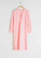 And other stories Cotton Kaftan Midi Dress