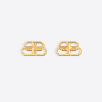 Balenciaga BB Small Stud Earrings