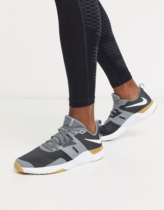 Nike Training Renew Retaliation sneakers in grey