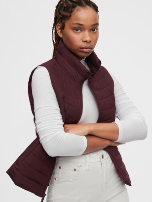 Gap Upcycled Lightweight Puffer Vest