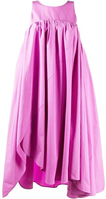 Nina Ricci Asymmetric Midi Dress