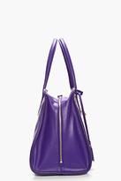 Alexander McQueen Purple Zip Around Padlock bag