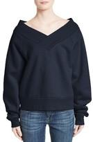 Burberry Women's Falacho V-Neck Sweatshirt