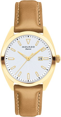 Movado Women's Heritage Leather Strap Watch, 31mm