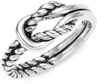 Effy Knotted Sterling Silver Ring