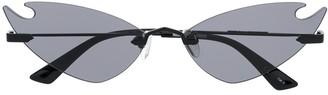 McQ MQ 0222s cat-eye frameless sunglasses