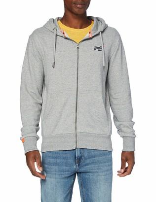 Superdry Men's Orange Label Classic Zip Hood Hoodie
