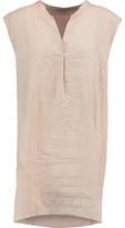 Majestic Linen Mini Dress