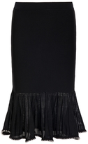 Alexander Wang Fluted Skirt