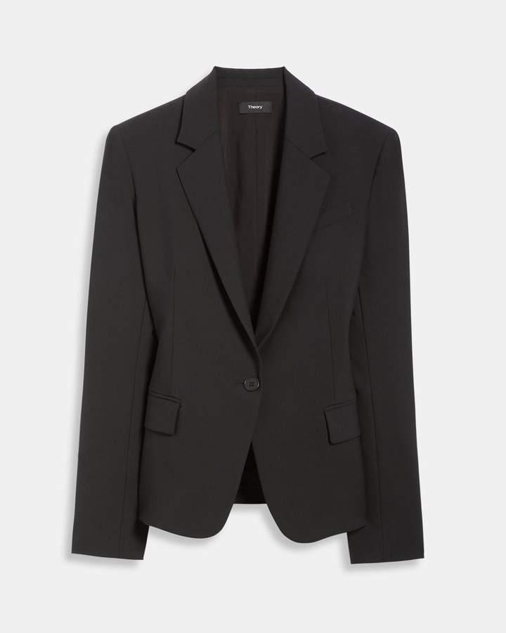 Theory Stretch Wool Gabe Jacket