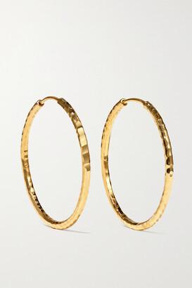 Octavia Elizabeth + Net Sustain Jumbo Gabby 18-karat Recycled Gold Hoop Earrings - one size