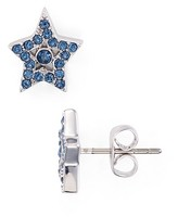 Marc Jacobs Tiny Pavé Star Stud Earrings