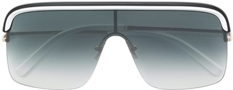 Cutler & Gross oversized aviator sunglasses