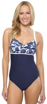 Nautica Pacific Floral One Piece