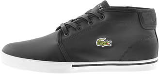 Lacoste Ampthill Mid Trainers Black