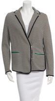 Veronica Beard Striped Knit Blazer