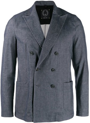 T Jacket double-breasted blazer