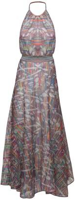 Missoni Lurex Knit Halter Neck Dress