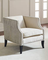 Bernhardt Alanis Leather-Accent Chair
