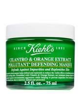 Kiehl's Cilantro & Orange Extract Pollutant Defending Masque, 2.5 oz.