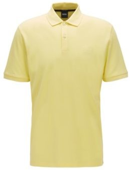 HUGO BOSS Regular-fit polo shirt in Pima-cotton pique