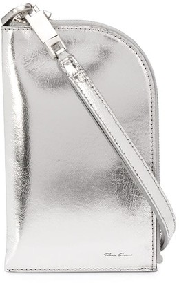 Rick Owens Metallic Necklace Bag