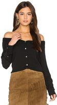 Theory Auriana Top in Black