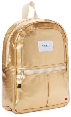 State Bags Kane Mini Metallic Backpack