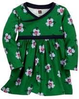 Tea Collection Kelvingrove Wrap Neck Dress (Baby Girls)