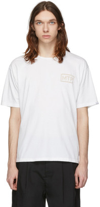 Minotaur White Ventilation Logo T-Shirt