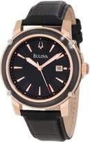 Bulova Men's 98B161 Strap Watch