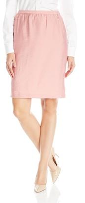 Anne Klein Women's Duppioni Gathered Skirt