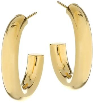 Jennifer Zeuner Jewelry Lou 14K Gold Vermeil Hoop Earrings