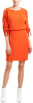Maje Drawstring Sheath Dress