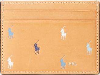 Ralph Lauren Leather Pony Card Case