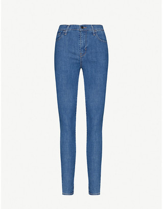 Levi's 720 High-Rise Super-Skinny Stretch-Denim Jeans