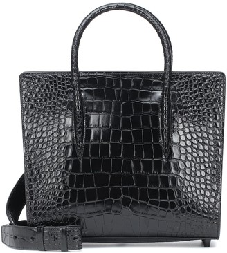 Christian Louboutin Paloma Medium croc-effect leather tote